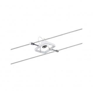 Paulmann 94148 Wire System Spot MacII max 1x10W GU5, 3 Weiß 12V Metall/Kunststoff