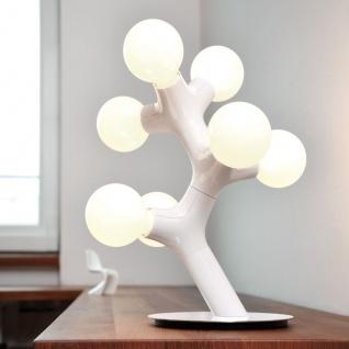 next DNA Tischleuchte Weiß Tischlampe