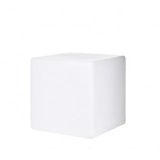Ideal Lux 115436 Luna Aussenleuchte Würfel 30 x 30cm Weiß