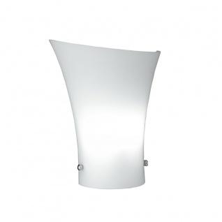 Wofi Zibo Wandleuchte Weiß Wandlampe