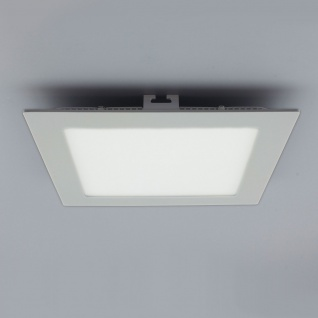 Licht-Design 30556 Einbau LED-Panel 960lm Dimmbar 17x17cm Neutral Silber