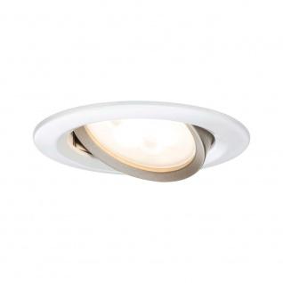 Paulmann Premium EBL Set Nova rund warm-dim LED GU10 3x5W Weiß 93650