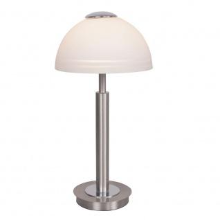 Wofi Class LED Tischleuchte Nickel matt Tischlampe