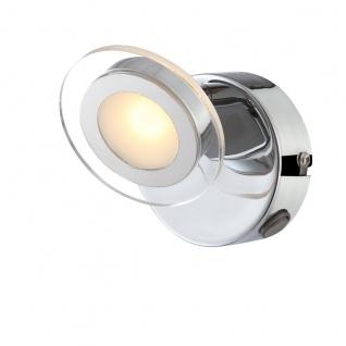 Wofi Chloe LED Wandleuchte Chrom Strahler Spots