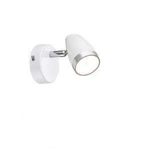 Globo 56109-1 Strahler Metall Weiß LED