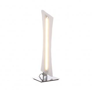 LeuchtenDirekt 11461-17 Antonia LED Tischleuchte + Schnurrschalter 10, 80W 3000K Chrom