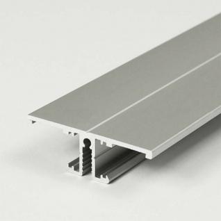 Aufbau-Wandprofil T-Form 200cm Alu-eloxiert für LED-Strips