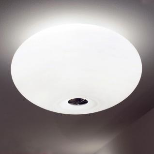 Casablanca Aih Groß Deckenleuchte Nickel matt gebürstet Deckenlampe