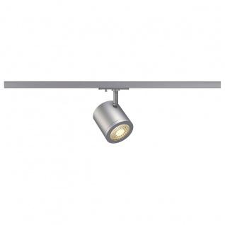 SLV Enola_C Spot rund silbergrau 9W LED 3000K 38° inkl. 1P. -Adapter 143944
