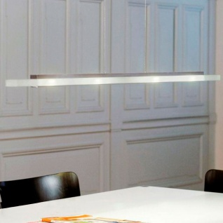 Casablanca Finix-Led LED-Pendelleuchte Aluminium gebürstet Pendellampe