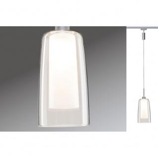 Paulmann 953.60 URail LED Pendulum Arido 3W Chrom matt mit klarem und satiniertem Glas