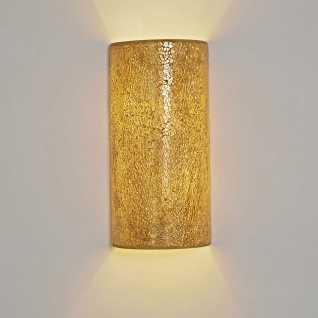 Holländer 271 1302 Wandleuchte 2-flammig Narziso Glasmosaik Amber