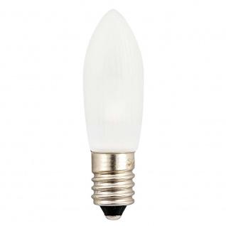 LED Birne gefrostet universal 3er-Blister warmweiß 14 - 55V 0.3W E10 Schraubgewinde