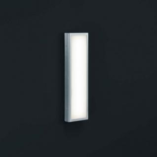 Helestra LED Wandaussenleuchte Scala IP44 Edelstahl