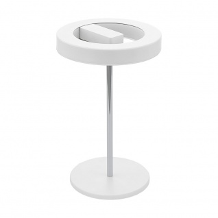 Eglo 95906 Alvendre-S LED Tischleuchte App-Steuerung 1400lm Weiß Chrom
