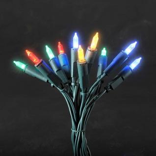 LED Minilichterkette 100 bunte Dioden für Innen