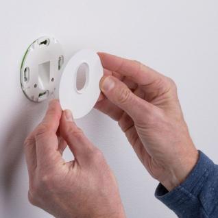 Licht-Trend LED Wandeinbauleuchte Box Ø 7, 8cm mit Bewegungsmelder 100lm Weiß inkl. Leuchtmittel