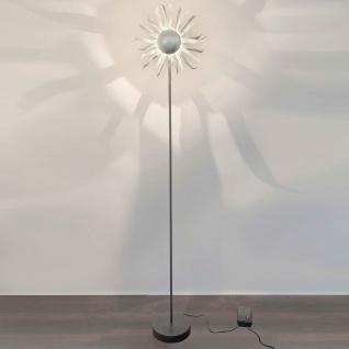 Holländer 300 K 1199 S Stehleuchte 6-flammig Sonne Grande Eisen Schwarz-Silber