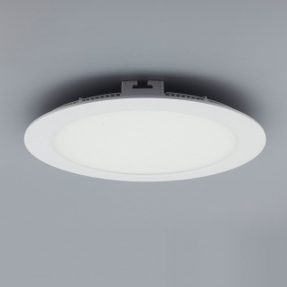 Licht-Design 30396 Einbau LED-Panel 1440lm Dimmbar Ø 22cm Kalt Weiss