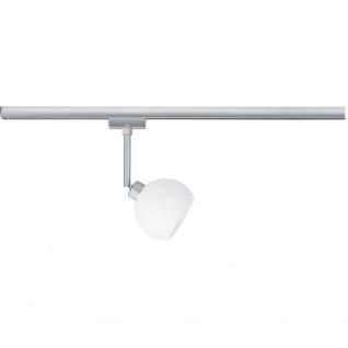 Paulmann URail System LED Spot Wolbi 1x3, 5W GZ10 230V Chrom matt/Weiß 230V Metall/Glas