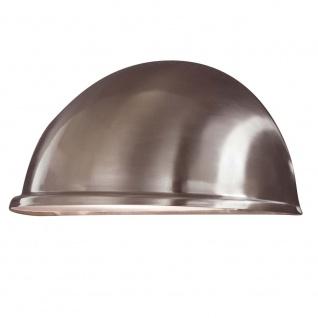 Konstsmide 7326-000 Torino Aussen-Wandleuchte Edelstahl Acrylglas