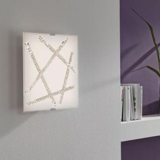 Eglo 93765 Sorrenta LED Wand- & Deckenleuchte Weiß Klar Weiß
