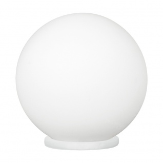 Eglo 93201 Rondo 1 Tischleuchte Ø 25cm Weiß