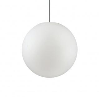 Ideal Lux 136011 Sole Aussenleuchte Hängekugel Ø 50cm Weiß Kugelleuchte