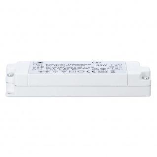 Paulmann TIP VDE Elektroniktrafo 20-80W 12V 80VA Weiß 3650