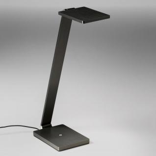 Licht-Trend Magis 1 LED-Tischleuchte mit Touchdimmer & USB 800lm Anthrazit