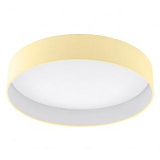 LED Deckenleuchte PALOMARO 24W weiss creme Deckenlampe