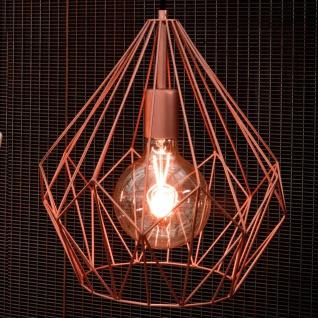 Licht-Trend Bosco Metall-Pendelleuchte im Vintage-Look Pendellampe Kupfer