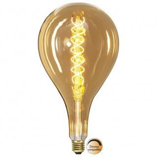 E27 Double Spiral LED 16cm Tropfen Dimmbar 250lm Extra Warmweiß