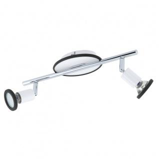 Eglo 94172 Modino Kinderzimmer Spot Stahl Kunststoff Weiß Chrom