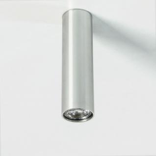 s.LUCE Pole M Aufbau-Deckenleuchte 20cm Alu-Glänzend Deckenlampe Aufbaulampe