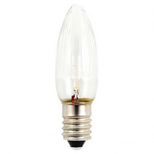 LED Birne universal 3er-Blister warmweiß 14 - 55V 0.3W E10 Schraubgewinde