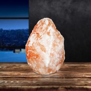 Salzkristallstein Tischlampe 17 x 30cm Globo 28340 Tischlampe Dekosteinleuchte