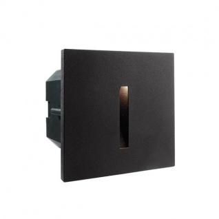 Abdeckung Linear Schwarz für LED-Einbauleuchte Steps Outdoor
