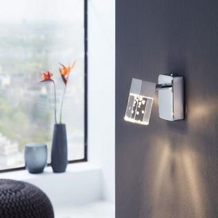 Eglo 95292 Cantil LED Strahler Wandleuchte 340lm Chrom Transparent