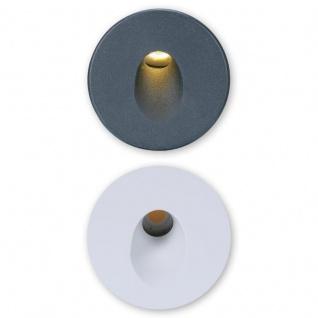 Pro-Light Abdeckung Sys-Wall 68 für LED-Wandeinbaustrahler Rund 1