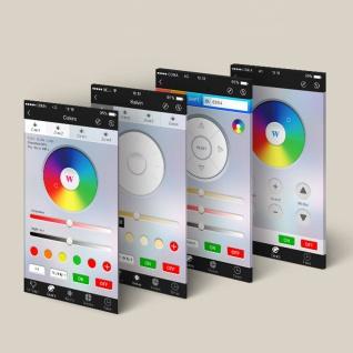 Starter-Set 3x GU10 iLight LED + WiFi-Box RGBW LED Leuchtmittel Lampe iPhone - Vorschau 4