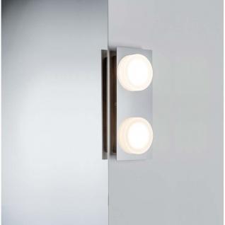WallCeiling Doradus IP23 LED 2x5W Chrom 230V Metall/Kunststoff