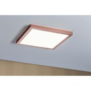 Paulmann Wandleuchte Atria LED-Panel 300x300mm 20W 4000K Rosegold matt 70941