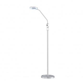 Wofi Laurel LED Stehleuchte 1-flammig Silber 370801700000