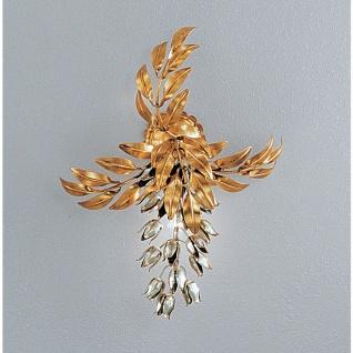 Kögl 10614 Pioggia D Oro Wandleuchte Blattgold-Auflage antik 48cm