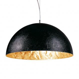 s.LUCE Blister Pendelleuchte 55cm Schwarz Gold Esstischlampe Hängeleuchte - Vorschau 2