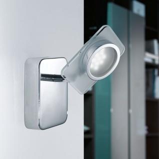 Eglo 91633 Tinnari LED Wandleuchte Weiß Klar Chrom