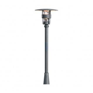 Konstsmide 523-750 Freja Leuchtenkopf für Mastleuchte Schwarz klares Glas