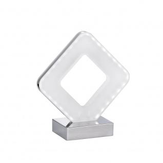 Wofi Harmonische LED Tischleuchte PORI Chrom 808201015000