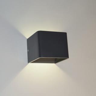 s.LUCE Gore LED Wandleuchte Up & Down Wandlampe Wandleuchte anthrazit